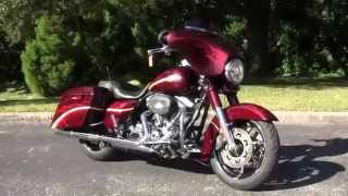 6. 2010 Harley Davidson CVO Street Glide  - Used Motorcycles for sale