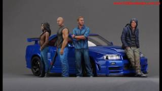 Nonton Fast Furious 7 resin figures and Nissan R34 diecast Film Subtitle Indonesia Streaming Movie Download