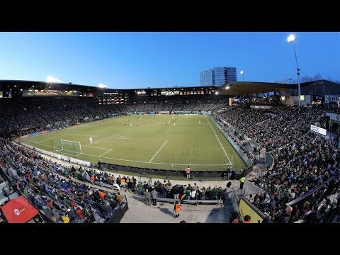 Video: Providence Park Time-lapse | A double header of Timbers and Thorns FC games