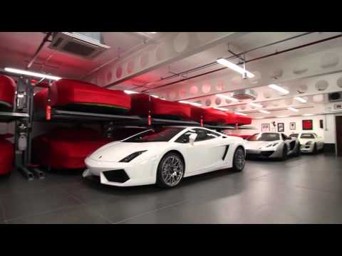 Paul Bailey's Supercar Dream UK Garage