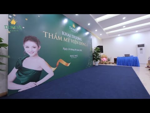 Video toàn cảnh khai trương Đông Á Beauty tại TP Vinh, Nghệ An