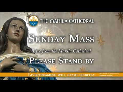 Sunday Mass at the Manila Cathedral - August 9, 2020 (6:00pm)