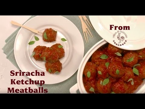Sriracha Ketchup Meatballs<br />  ~  <a href='http://whypaymoreforketchup.com/wp-content/uploads/2016/10/Sriracha-Ketchup-Meatballs.pdf' target='_blank'>Download Here</a>
