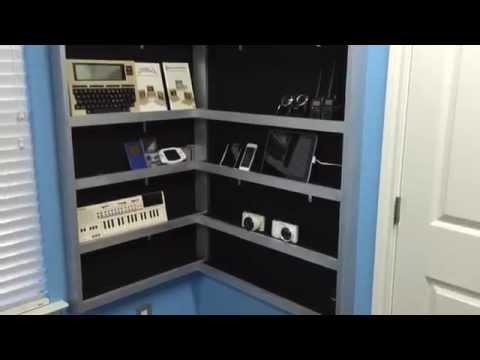 Building an electronic gadgets shelf