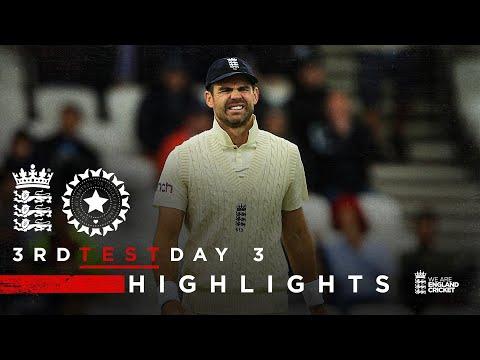 Pujara 91* Frustrates England | England v India - Day 3 Highlights | 3rd LV= Insurance Test 2021