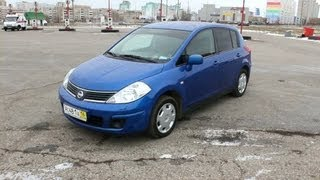 2008 Nissan Tiida. Start Up, Engine, And In Depth Tour.