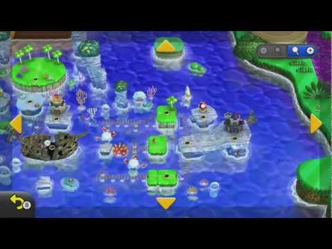 Super Mario Bros World Mapa of New Super Mario Bros u