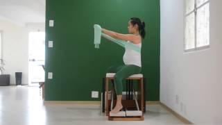 Variação do Pumping na Cadeira com Fortalecimento de Membros Superiores com a Faixa Elástica
