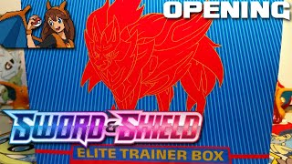 Zamazenta Time! Opening Another Sword & Shield Elite Trainer Box of Pokemon Cards! by Flammable Lizard
