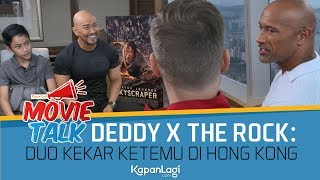 Video Duo Kekar Deddy Corbuzier - The Rock: Interview SKYSCRAPER di Hong Kong MP3, 3GP, MP4, WEBM, AVI, FLV November 2018