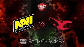 Natus Vincere vs Mousesports, DreamLeague Season 7, game 1 [V1lat, GodHunt]