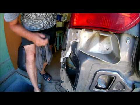 как снимать задний бампер на форд фокус 3