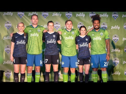 Video: Sounders FC and Reign FC announce new jersey partnership with Zulily