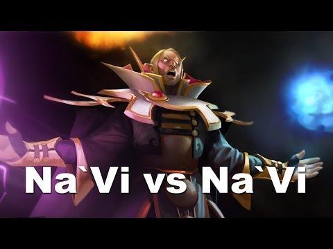 Dendi God Of Invoker ( Navi.eu VS Navi.ua )