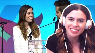 REACTING TO GAMINGWITHJEN WINNING THE SHORTY AWARDS!