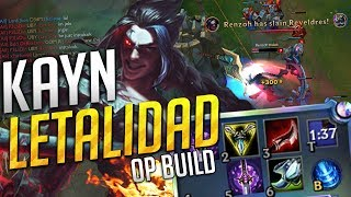 ★ ¿Te ha gustado esta build con Kayn? Dale a like!★🔶 MIS REDES SOCIALES 🔶➥ Twitter: https://twitter.com/RenzohGG➥ Twitch:  http://www.twitch.tv/RenzohGG➥ Insta: https://www.instagram.com/RenzohGG➥ Facebook: http://goo.gl/ojMrZk--------------------------------------------------------------------------------★ Negocios: renzohgg@gmail.com--------------------------------------------------------------------------------➥ Si quieres recomendarme alguna build, campeón o composición puedes hacerlo mediante redes sociales o comentarios :D ---------------------------------------------------------------------------------🎵Música 🎵00:32 PWAA OST 11   Investigation ~ Cornered (Variation)01:04 Spear of Justice (Undertale)01:18 Shovel Knight - Watch Me Dance!01:36 Detective Conan Main Theme02:44 Dragon Ball Z Budokai We Go Nuts03:26 Undertale Your Best Nightmare 04:12 Undertale Remix ✨ Last Goodbye GameChops04:40 Zatchbell OST Grisor Theme07:45 Ocarina of Time Title Theme [ dj Jo Remix ] 08:20 Digimon Rumble Arena The Biggest Dreamer09:42 Undertale Death by Glamour Gooseworx Cover 11:05 Lake Pokémon Diamond  Pearl ---------------------------------------------------------------------------------🔻 DISCLAIMER 🔻I do not own the anime, music, artwork or the lyrics. All rights reserved to their respective ownersThis video is not meant to infringe any of the copyrights.---------------------------------------------------------------------------------💙 El Diamond HUD que uso 💙 http://fav.me/da95zdp💙  Imágenes de Yasuo para tu perfil 💙 http://bit.ly/2pVtlgI