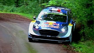 Our highlights of ADAC Rallye Deutschland 2017 with lots of crashes, mistakes, rollovers and jumps. Ott Tänak could take the win ...