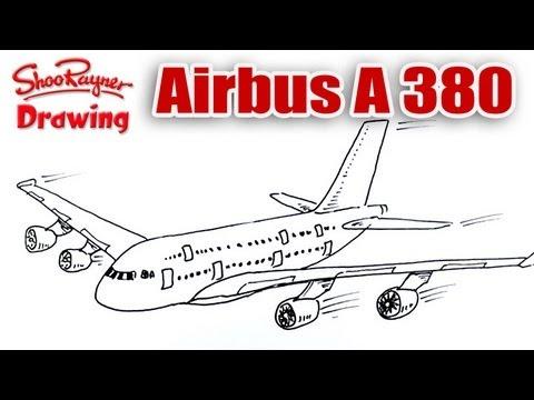 Как нарисовать a-380