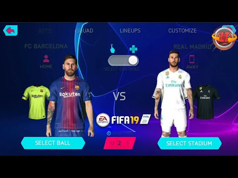 FIFA 19 MOBILE LITE ANDROID OFFLINE MOD UCL MENU BEST DOWNLOAD 18/19 [APK,OBB,DATA] ❞