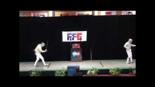 Meylan France  city photos gallery : Championnat de France Sabre 2013 SHJ - Finale MEYLAN - US METRO