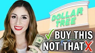 What You SHOULD and SHOULDN'T Buy At The Dollar Tree | Shop with Me [ But First, Coffee ]