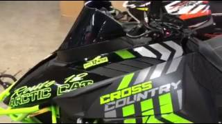 8. 2017 Arctic Cat XF 8000 Cross Country Walk Around **For Sale**