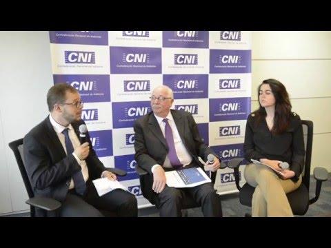Sylvia Lorena (CNI)  e Hélio Zylberstajn (USP) debatem reforma trabalhista
