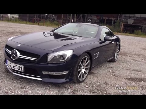 Mercedes - The German Fast Lane Daily crew had a chance to test drive the new 2015 Mercedes-Benz SL65 AMG. The new SL65 AMG is powered by a twin-turbo V12 engine making 621-hp and 738 lb-ft of ...