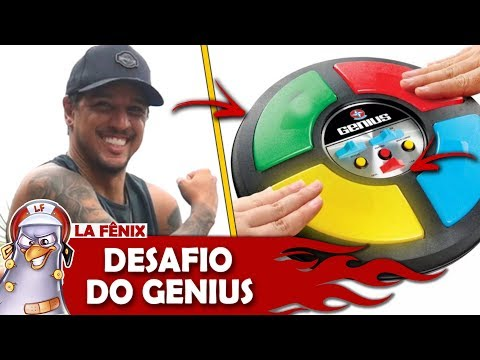 DESAFIO DO JOGO GENIUS ft LUCAS LIRA  DRINK GAMES