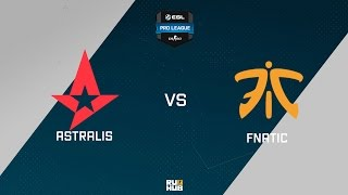 Astralis vs fnatic, game 1