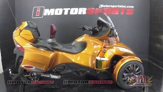 7. 2014 Can-Am Spyder RT-S SM6 A5027 @iMotorsports