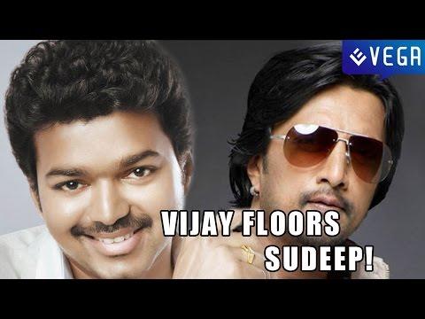 Vijay floors Sudeep!