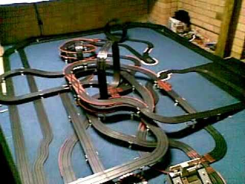 Awesome AFX Slot Car Track