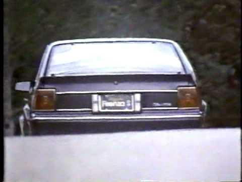 Oldsmobile Firenza S (Publicité Québec)