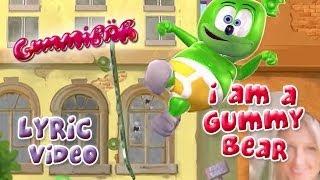 The Gummy Bear Song With Lyrics - Gummibär The Gummy Bear
