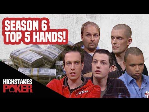 High Stakes Poker Best Poker Hands | Season 6