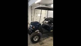 2. 2018 EZ-GO Express S4 Golf Cart
