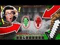 GREEN STEVE MEETS RED STEVE IN MINECRAFT! (BAD IDEA)