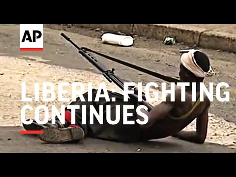 LIBERIA: FIGHTING CONTINUES AS INTERNATIONAL AID THREATENS TO LEAVE