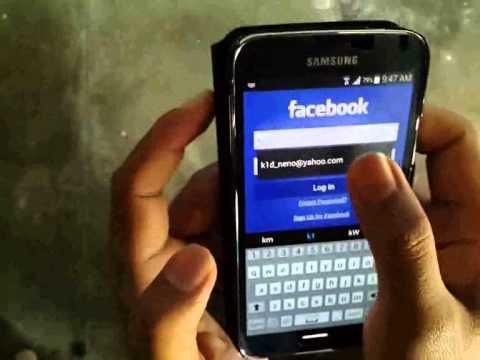 Descargar Samsung Galaxy S5 : How to Add Facebook Apps (Android Phone) para Celular  #Android
