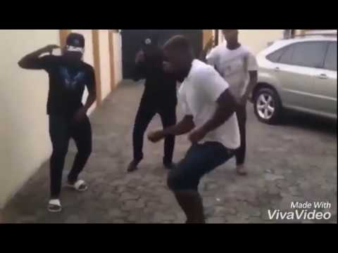 """OMO WOBE ANTHEM"" DANCING STEPS BY OLAMIDE'S BOYS. (NEW DANCING STEPS)"