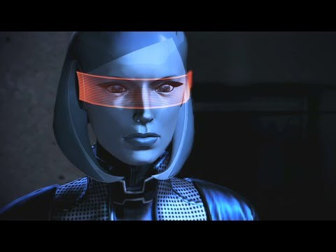 Mass Effect Trilogy: Joker and EDI Romance Complete All Scenes (видео)