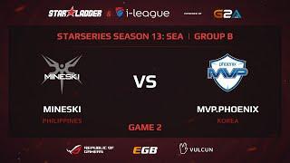 Mineski vs MVP Phoenix, game 2
