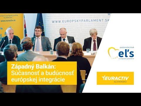 Eduard Kukan zorganizoval debatu na tému západného Balkánu