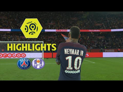 Paris Saint-Germain - Toulouse FC (6-2) - Highlights - (PARIS - TFC) / 2017-18 (видео)