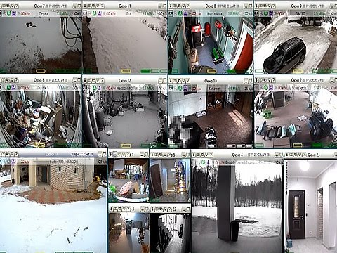 Скульптурное видеонаблюдение для мегапиксельных камер