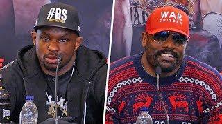 Dillian Whyte vs. Dereck Chisora 2 FINAL PRESS CONFERENCE | Matchroom Boxing