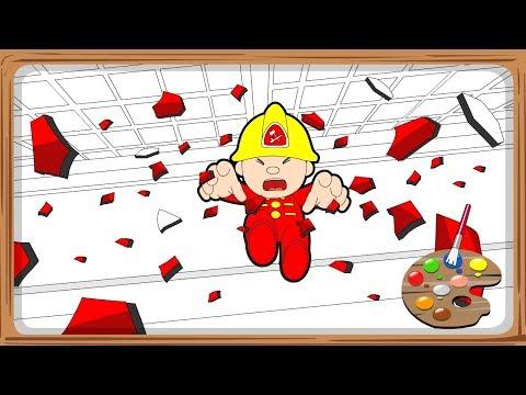 "Interactive Coloring EP39""@""Citi Heroes"" CARtoons"