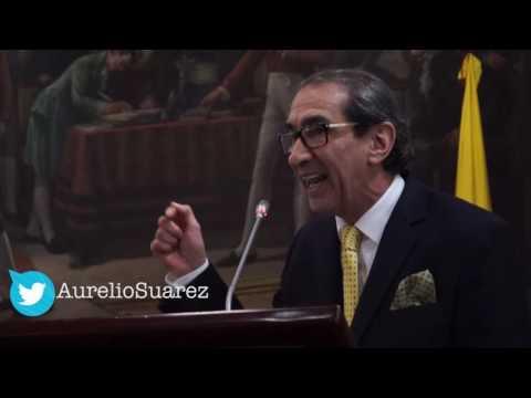 Aurelio Suárez explica en el Concejo de Bogotá por qué no privatizar ETB