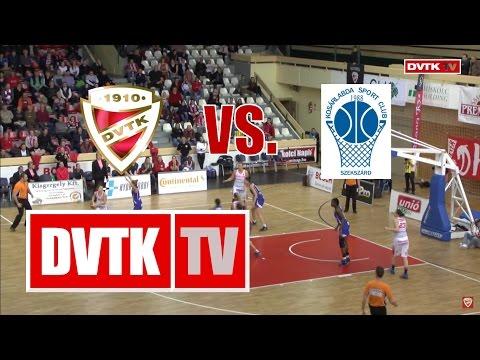 Női kosárlabda NB I. negyeddöntő, első mérkőzés. Aluinvent DVTK - KSC Szekszárd